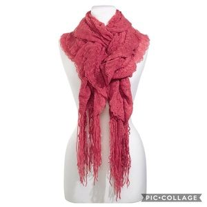 Frenchi pink scarf